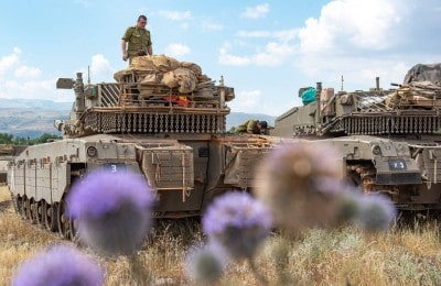 Israel accuses Iran of firing 20 rockets at Golan Heights