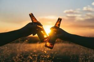 בירה בשקיע