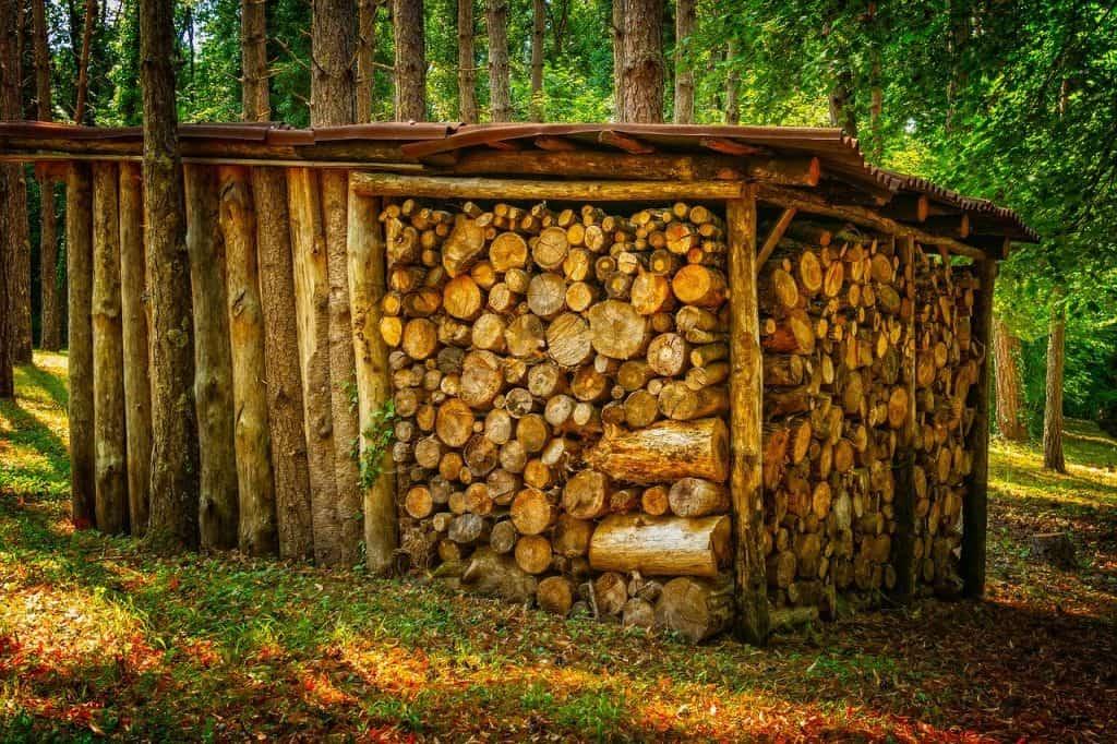 מחסן מעץ